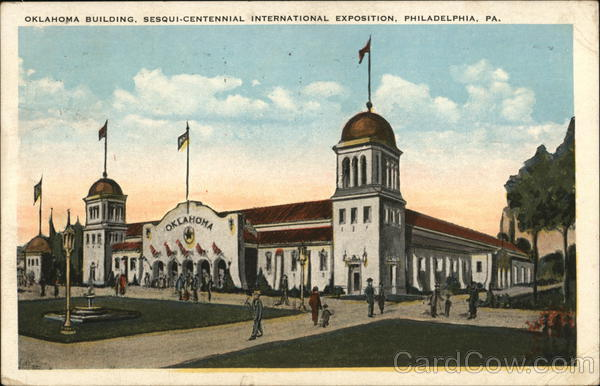 Oklahoma Building, Sesqui-Centennial International Exposition Philadelphia Pennsylvania