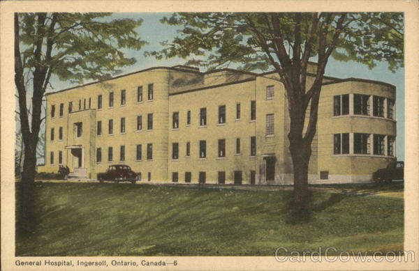 General Hospital Ingersoll Canada Ontario