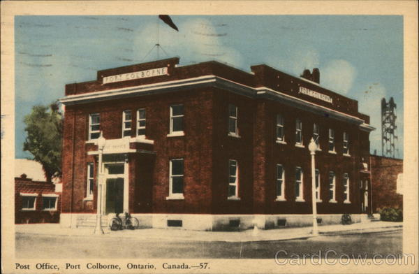 Post Office Port Colborne Canada Ontario