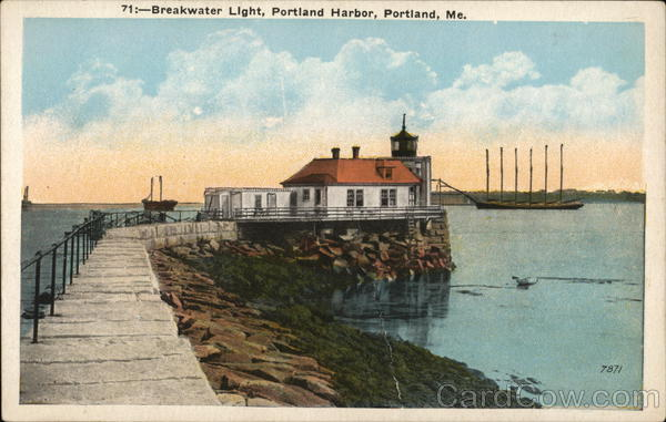 Breakwater Light, Portland Harbor Maine