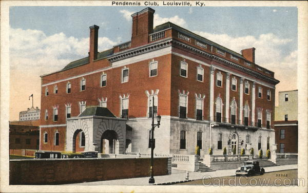 Pendennis Club Louisville Kentucky