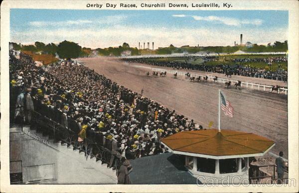 Derby Day Races, Churchill Downs Louisville Kentucky