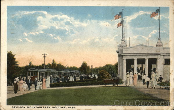 Pavilion, Mountain Park Holyoke Massachusetts