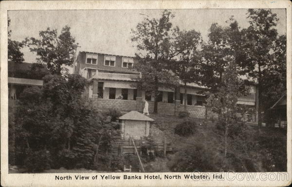 North View of Yellow Banks Hotel North Webster Indiana