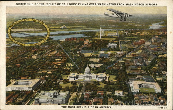 Sister Ship of the Spirit of St. Louis Washington District of Columbia