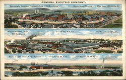 Views of Three General Electric Company Plants