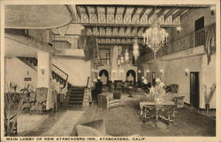 Main Lobby of New Atascadero Inn