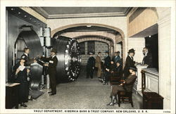 Vault Department, Hibernia Bank & Trust Company