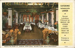 Kolb's Tea Room, Kolb's Restaurant