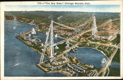 """The Sky Ride"", Chicago World's Fair Postcard"