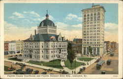 Fayette County Courthouse and Fayette National Bank Building