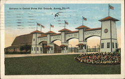 Entrance to Central States Fairgrounds