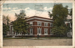 Boss Mfg. Co. - General Office Building Postcard