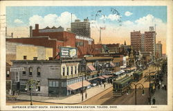Superior Street South, Showing Interurban Station