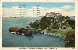 Beacon Rock, Residence of Marion Eppley