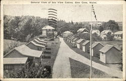 General View of Sea View Cabins