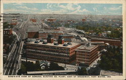 Bird's Eye View of General Electric Co. Plant, East of Broadway