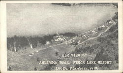 Air View of Anderson Bros. Fence Lake Resort