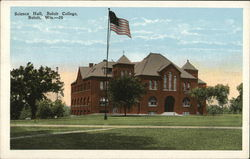 Beloit College - Science Hall Postcard