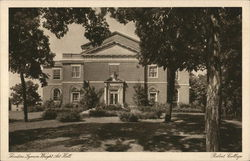 Beloit College - Theodore Lyman Wright Art Hall Postcard