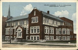 Nelson Mowery Y.M.C.A. Building Postcard