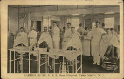 Barber Shop, U.S.A. Base Hospital