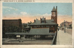 Lehigh Valley R.R. Station