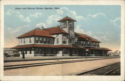 Depot and Harvey House
