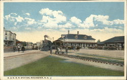 B. & M. Railroad Station