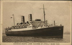"Canadian Pacific Liner ""Duchess of Atholl"""