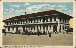 Depot and General Offices, C. H. & N. Ry.