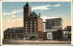 Illinois Central Depot Postcard
