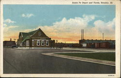 Santa Fe Depot and Yards