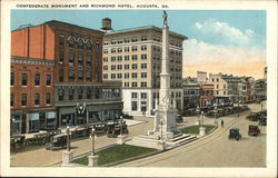 Confederate Monument and Richmond Hotel