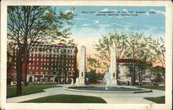 Soldiers Monument, Fulton Street Park