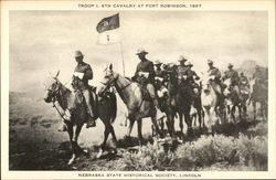 Troop I., 6th Cavalfry at Fort Robinson, 1897, Nebraska State Historical Society