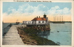 Breakwater Light, Portland Harbor