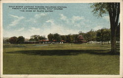 French Lick Springs Hotel - Golf COurse Postcard