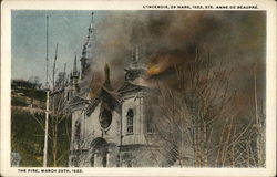 The Fire, March 29, 1922