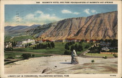 Mammoth Hotel and Park Headquarters at Mammoth Hot Springs