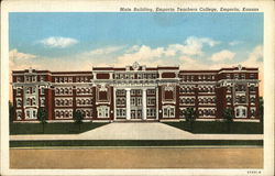 Main Building, Emporia Teachers College