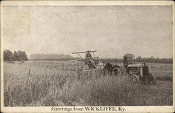 Tractor and Harvester