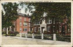 Pulaski Academy and Union School Postcard