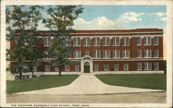 The Theodore Roosevelt High School Postcard
