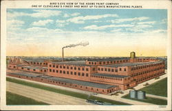 Bird's Eye View of the Adams Paint Company