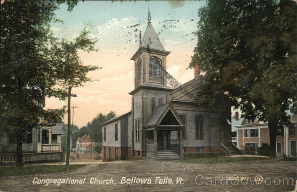 Congregational Church Bellows Falls Vermont