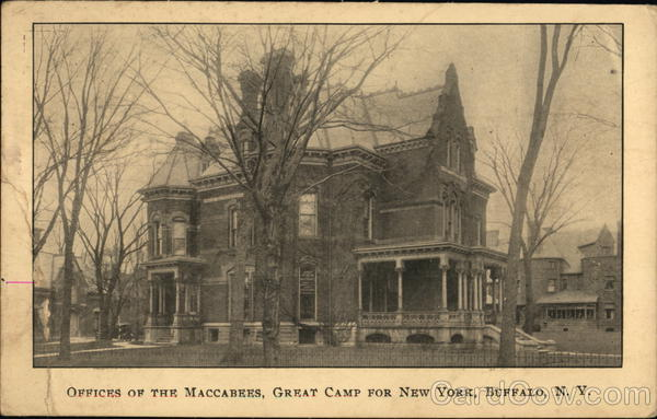 Offices of the Maccabees, Great Camp for New York Buffalo