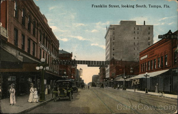 Franklin Street Looking South Tampa Florida