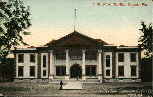 Public School Building Orlando Florida