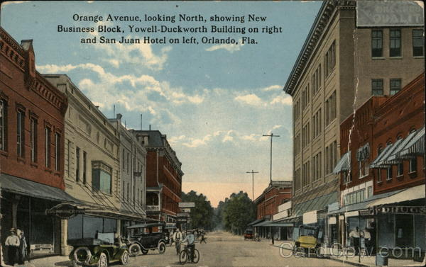 Orange Avenue looking North Orlando Florida